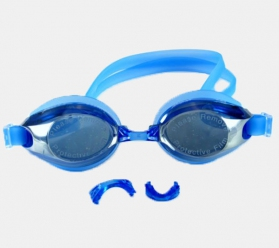 Mirror Adult Swimming Goggles Anti-fog UV Protection Blue Colour